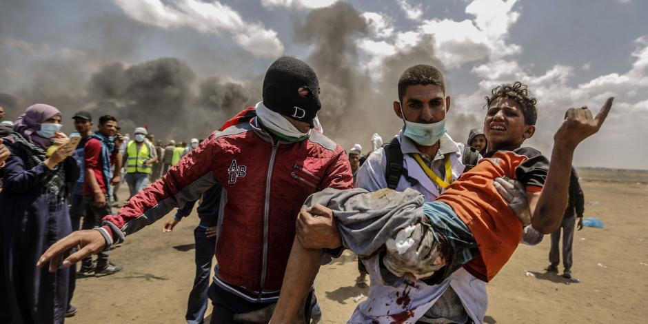 """Israel actuó con """"moderación"""" en choque con palestinos, dice embajadora de EU"""