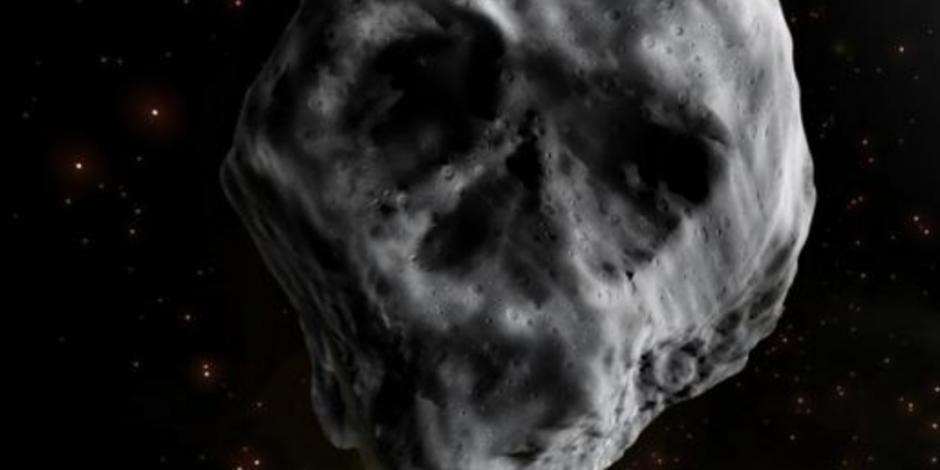 Un asteroide con forma de calavera pasará cerca del planeta Tierra