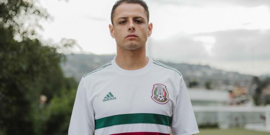Presenta México jersey retro para Rusia 2018