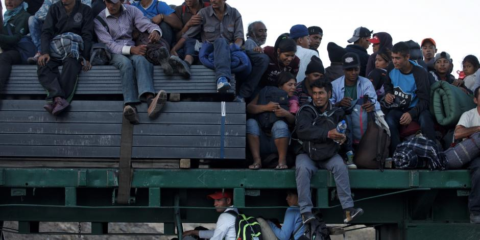 Secretaria de EU asegura que serán pocos los migrantes que tendrán asilo