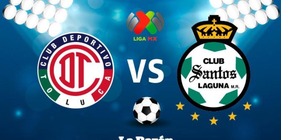 Ya hay fechas y horarios para final entre Toluca y Santos