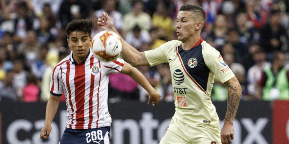 América perdona a Chivas que saca el empate 1-1 en Clásico Nacional