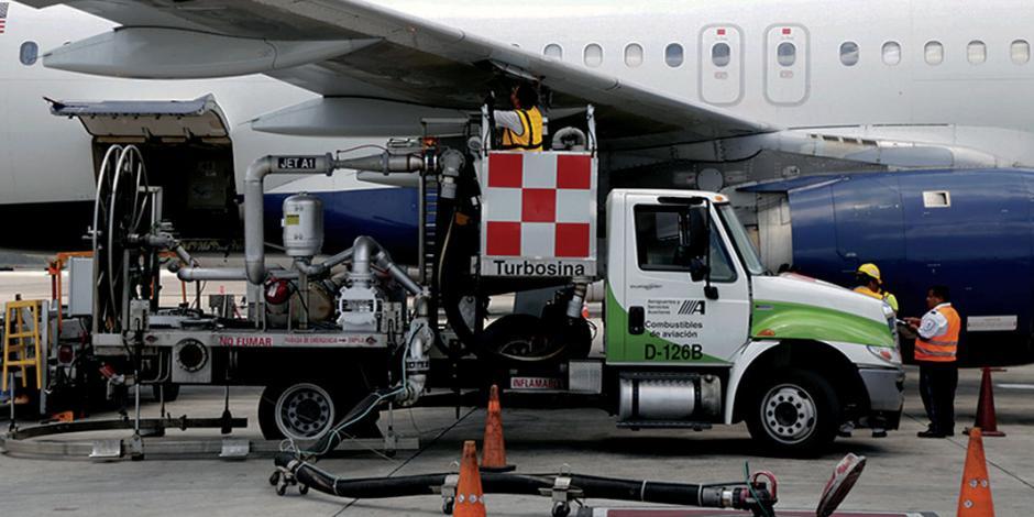 Cofece pide a ASA eliminar exclusividad en turbosina
