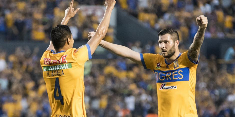Tigres gana en casa 2-0 al Santos