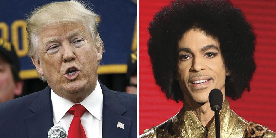 Piden a Trump que no use música de Prince