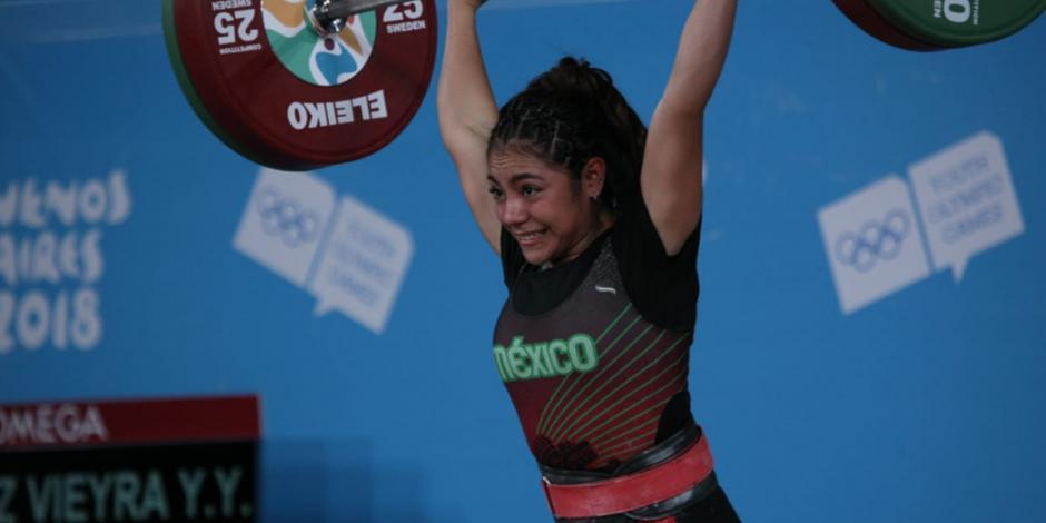 Yesica Hernández gana el primer oro para México en JOJ en Buenos Aires