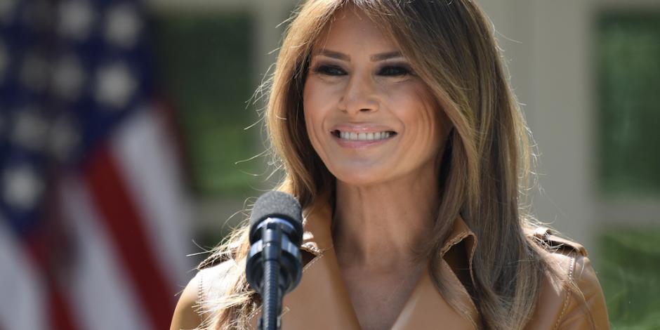Operan a Melania Trump por problema renal