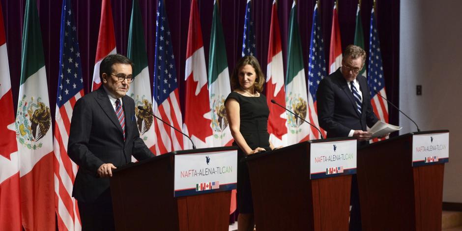 México dará seguimiento a negociaciones del TLCAN entre Canadá y EU