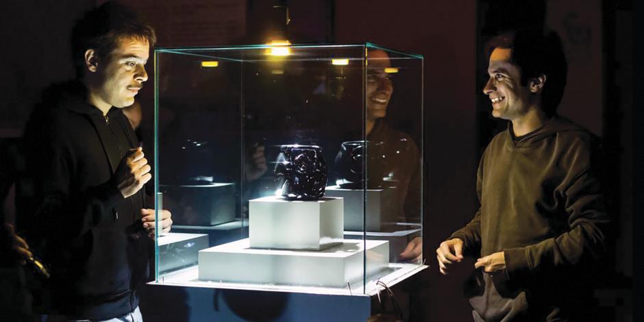 Fue un privilegio grabar en el Museo de Antropología: Gael García