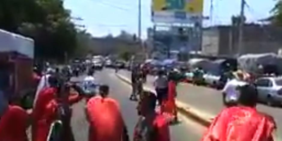 Balacera irrumpe representación de Viacrucis en Acapulco; hay 2 muertos