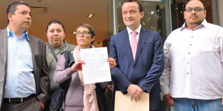 Mikel acompaña querella contra exjefa de Tlalpan