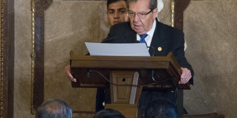Descarta Muñoz Ledo que legisladores paguen consulta del NAIM
