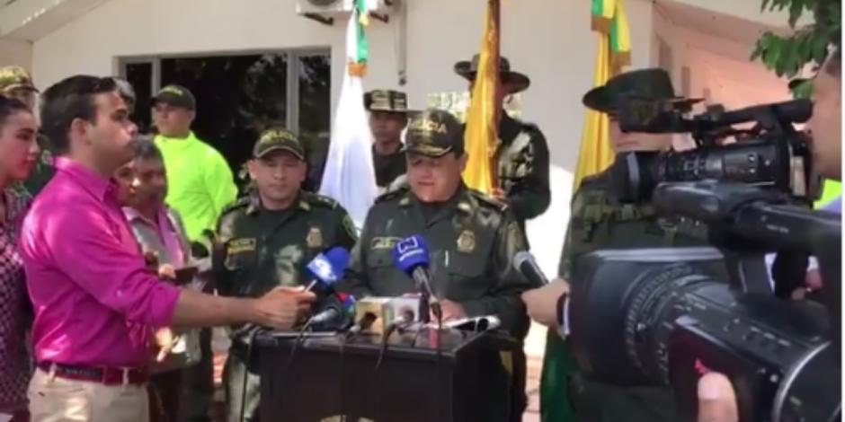 Detienen a 11 funcionarios colombianos ligados al Cártel de Sinaloa