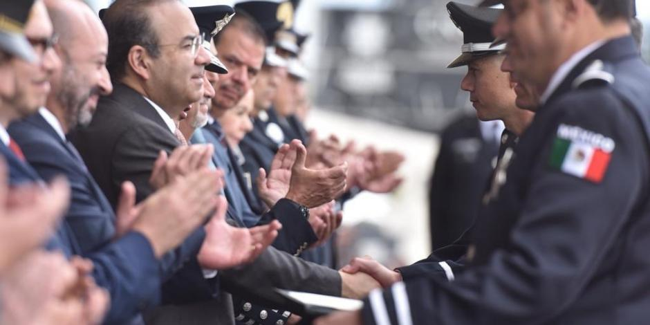Navarrete Prida destaca labor de Policía Federal ante éxodo migratorio
