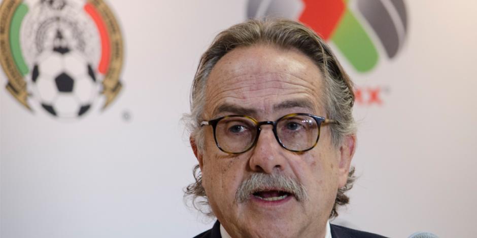 Decio de María renuncia a la presidencia de la Femexfut