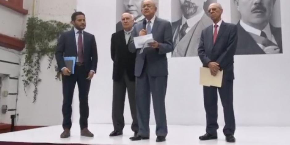 Santa Lucía y AICM, compatibles; Texcoco inviable y caro: Jiménez Espriú