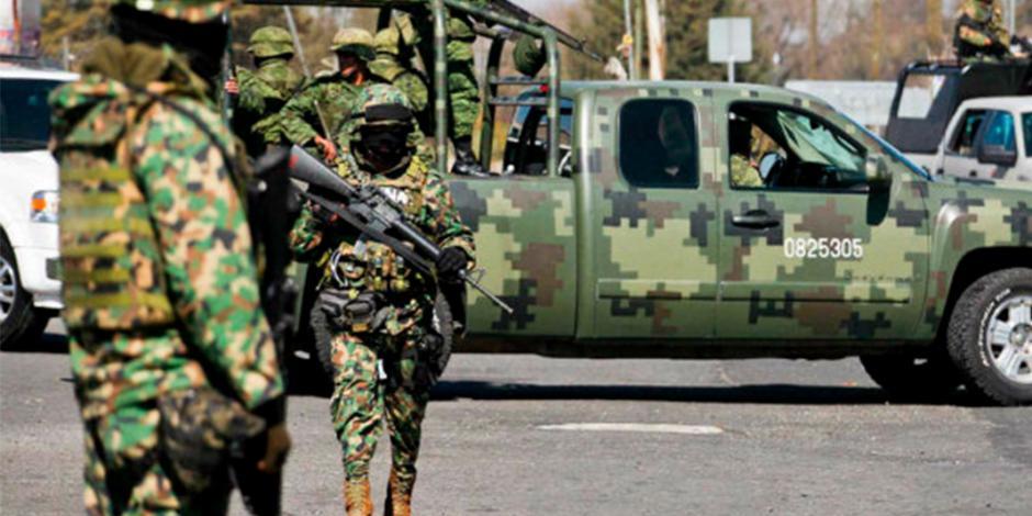 Mueren tressoldadosen emboscada en Guerrero