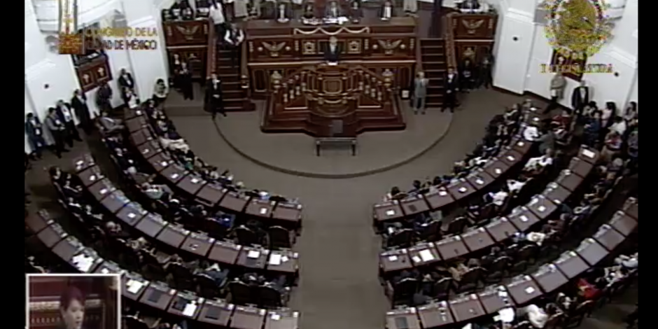 VIDEO: Se instala el Primer Congreso de la CDMX