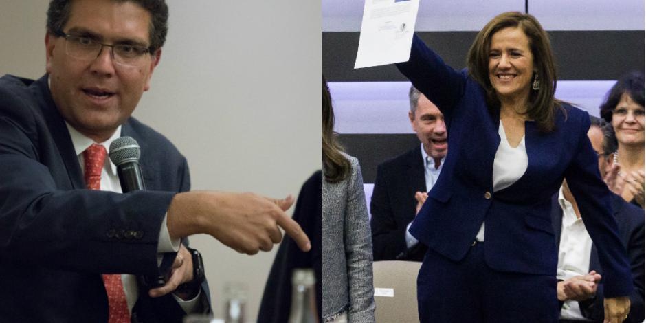 Armando Ríos va por revisión exhaustiva; Zavala celebra registro