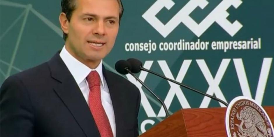 Bienestar y no continuidad, lo que está en juego en elecciones: EPN