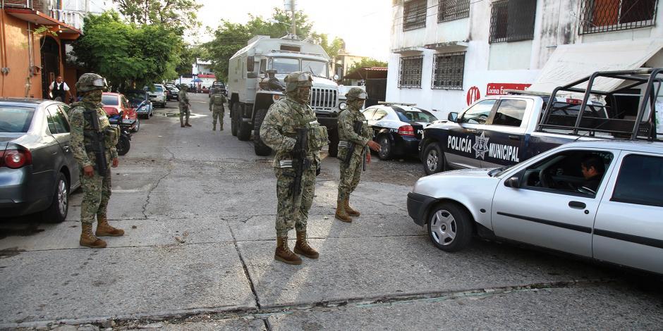 IP de Acapulco exige indagar a Policía Federal