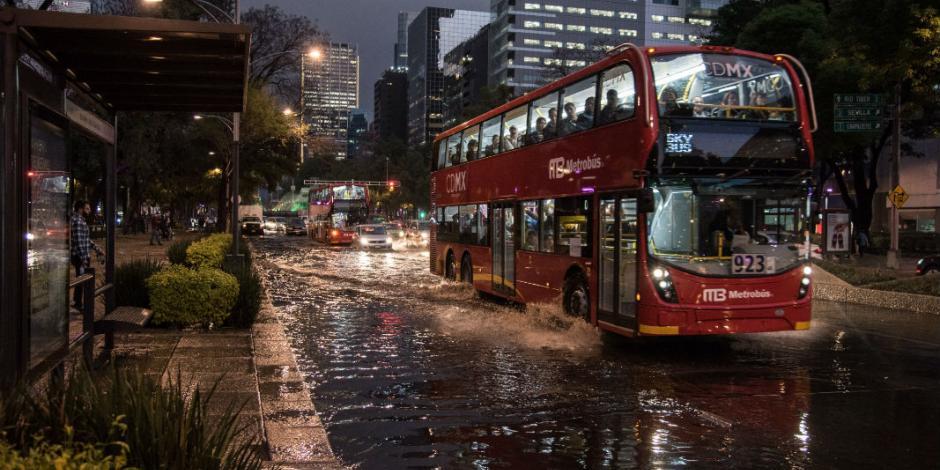 Activan alerta amarilla por lluvia en al menos seis delegaciones