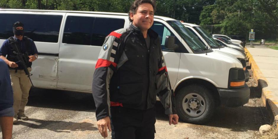 Juez federal frena extradición de exgobernador Eugenio Hernández a EU