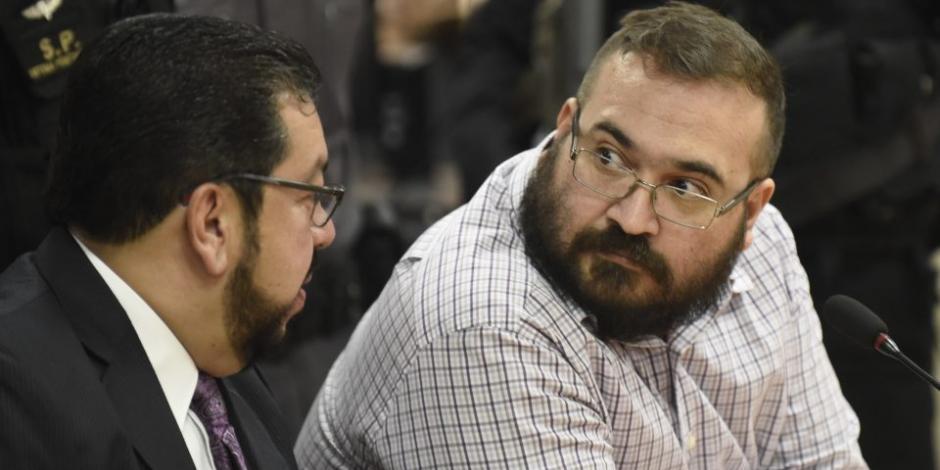 Juez procesa al exgobernador Javier Duarte por tres delitos