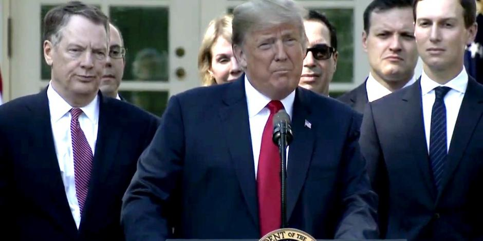 Agradece Trump a EPN y AMLO por el apoyo en nuevo acuerdo comercial