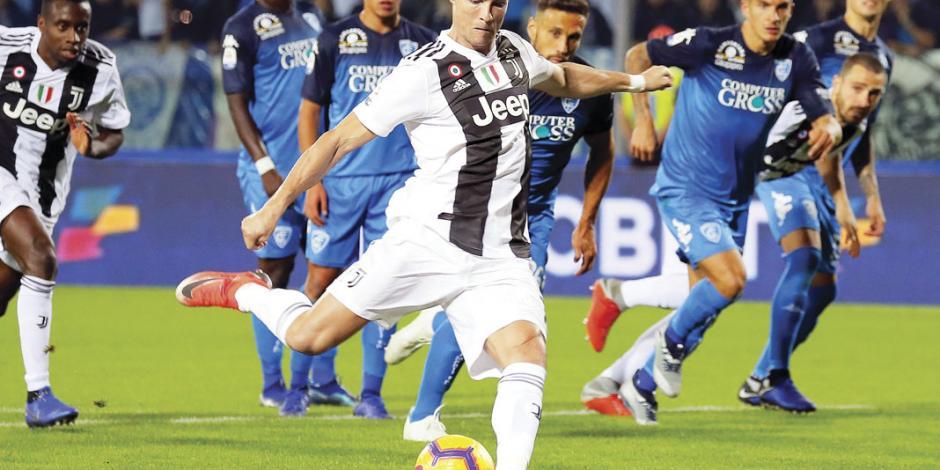 En sólo 10 juegos Ronaldo, el más efectivo de la Juventus en 60 años