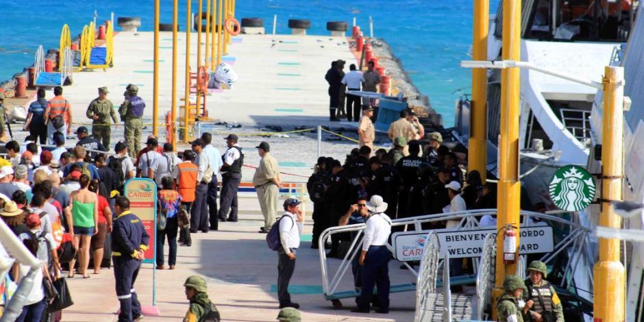 Suman 24 personas heridas por explosión en Playa del Carmen
