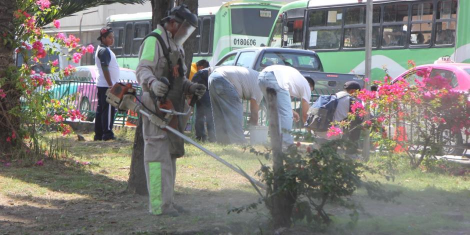 Recupera GAM espacios públicos con Mega Jornada