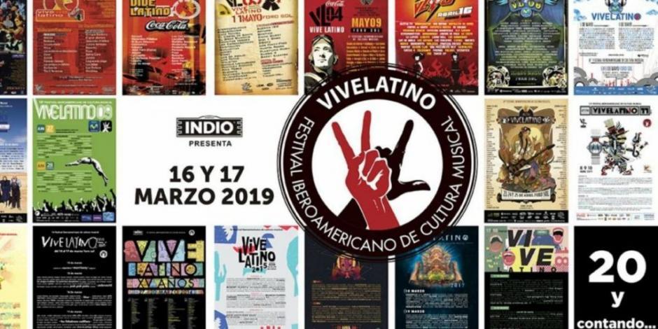 Lanza Vive Latino venta especial de boletos para su 20 aniversario