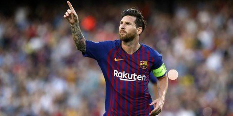 Messi guía al Barcelona en goliza al PSV, de Lozano y Gutiérrez