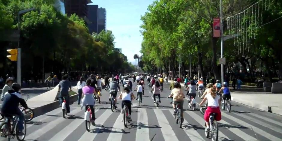 Cerradas diversas vialidades en la CDMX por eventos deportivos