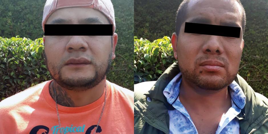 Encarcelan a dos sicarios que operaban en Tláhuac