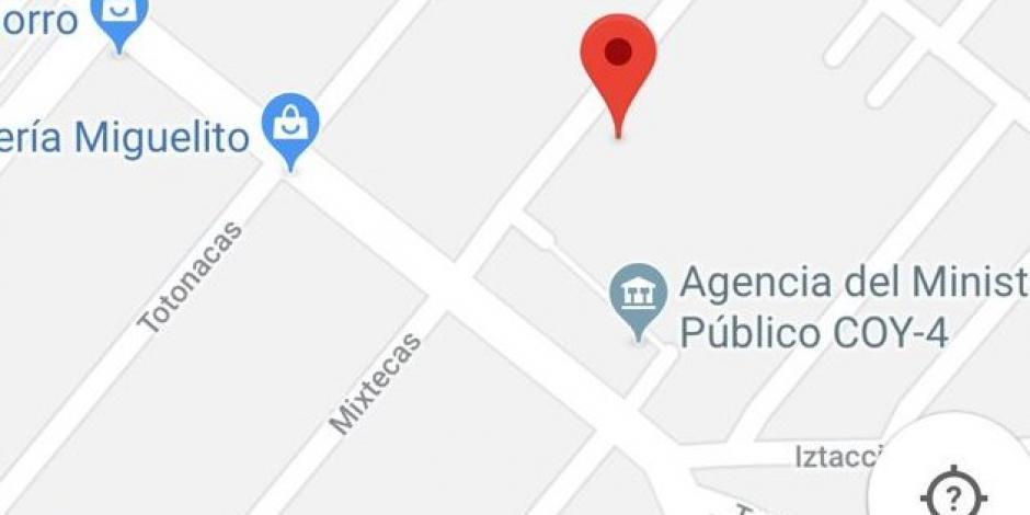 Agencia del MP en Coyoacán, epicentro de un sismo de magnitud 2
