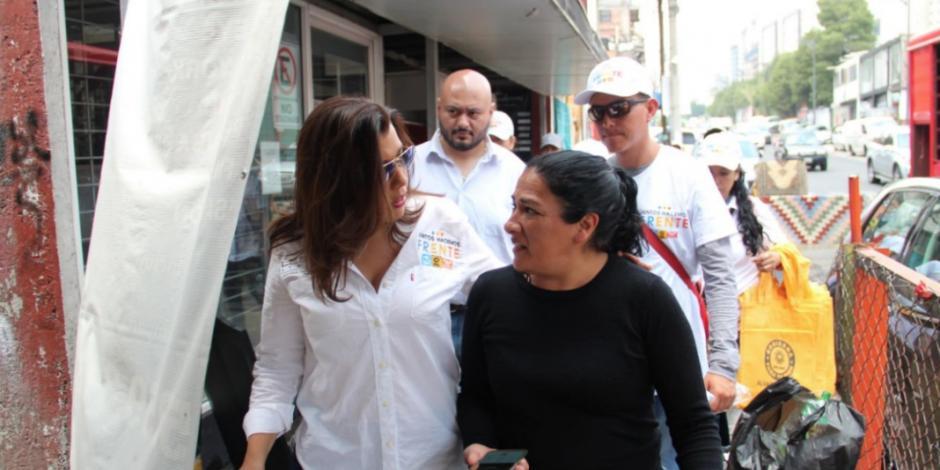 Ofrecen candidatos del Frente en Cuajimalpa ordenar crecimiento urbano