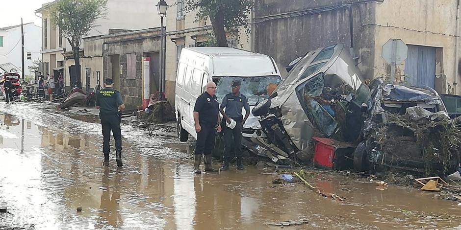 VIDEO: Suman 9 muertos por fuertes lluvias en Mallorca