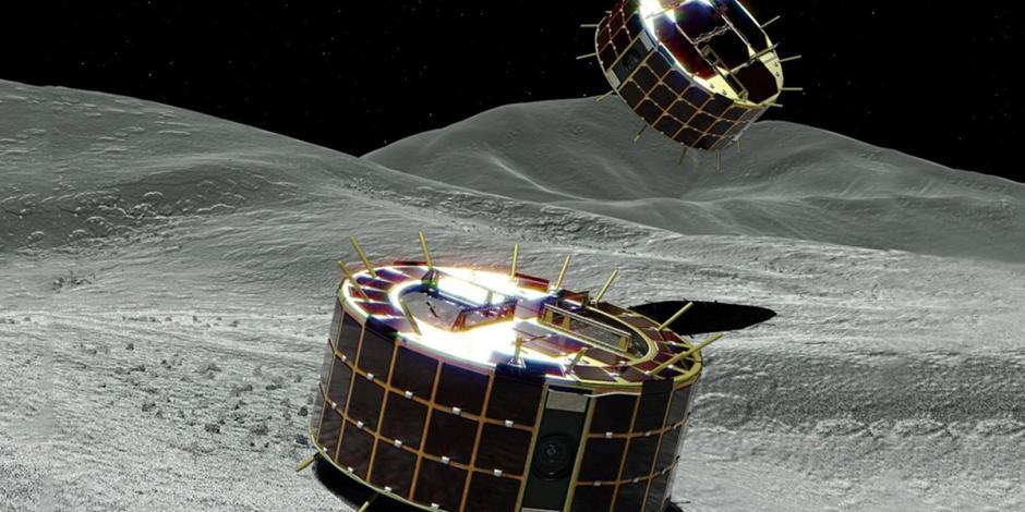 MULTIMEDIA: Japón innova; con un rover explora la superficie de un asteoride
