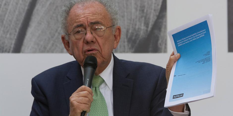 Viables, ambos proyectos para aeropuerto, dice Jiménez Espriú