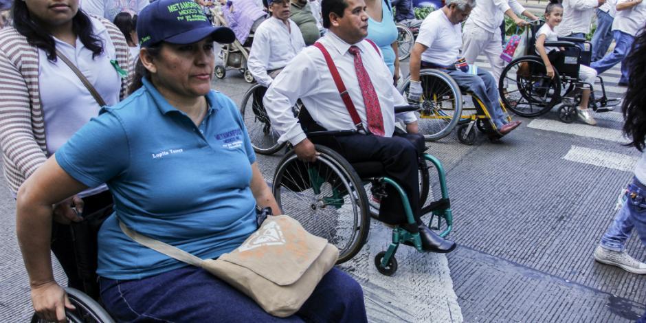 INE prepara registro de votantes con discapacidad