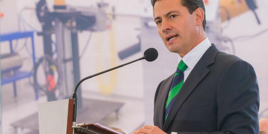 Mi única participación en las elecciones será al votar, afirma EPN