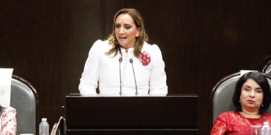 Los priistas no somos mercenarios de la política, declara Ruiz Massieu