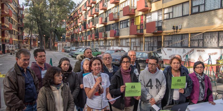Al 50%, padrón de damnificados en la Ciudad de México