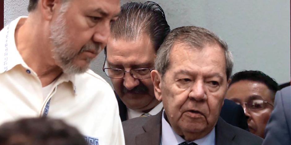 Muñoz Ledo y Noroña niegan que haya ruptura