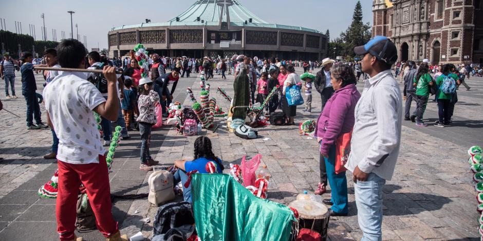 VIDEO: Miles de peregrinos llegan a la CDMX y afectan la vialidad