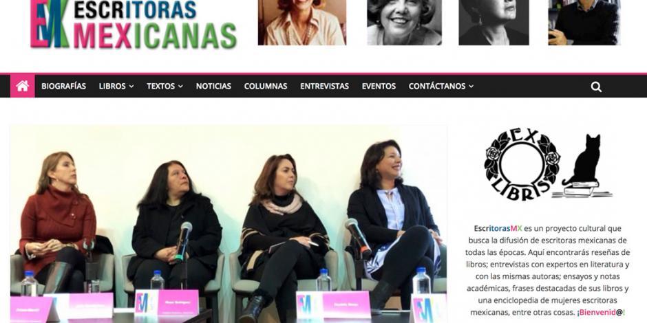 Escritoras mexicanas lanzan plataforma web