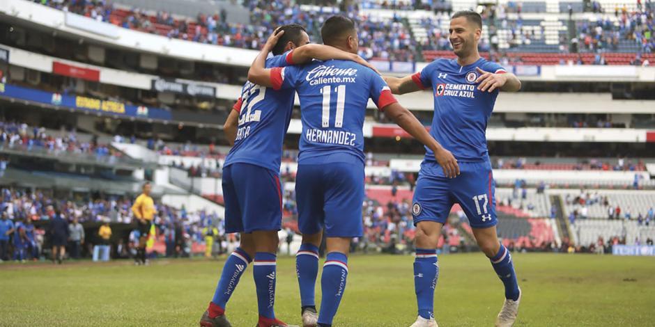 Cruz Azul, a dos puntos de igualar récord del torneo pasado