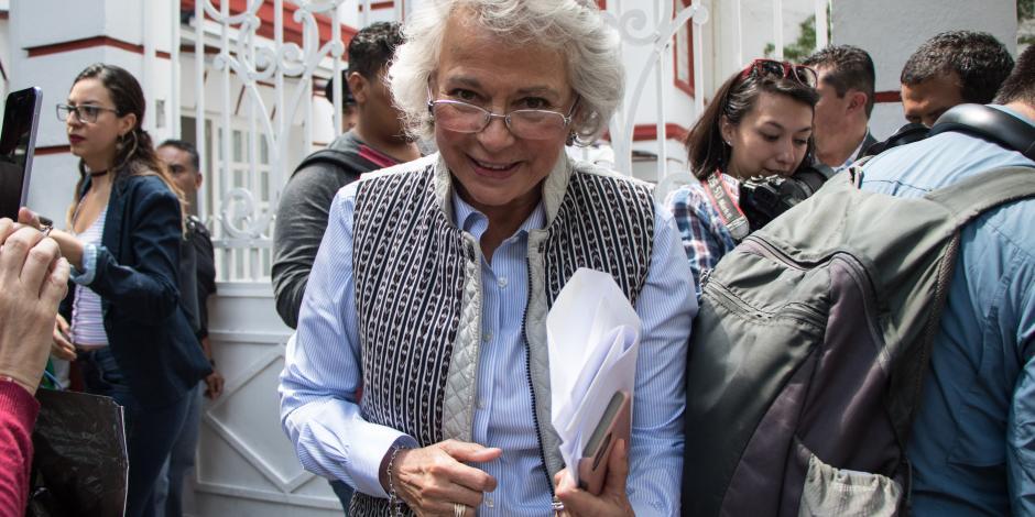 Olga Sánchez: Amnistía atenderá a campesinos, jóvenes e indígenas